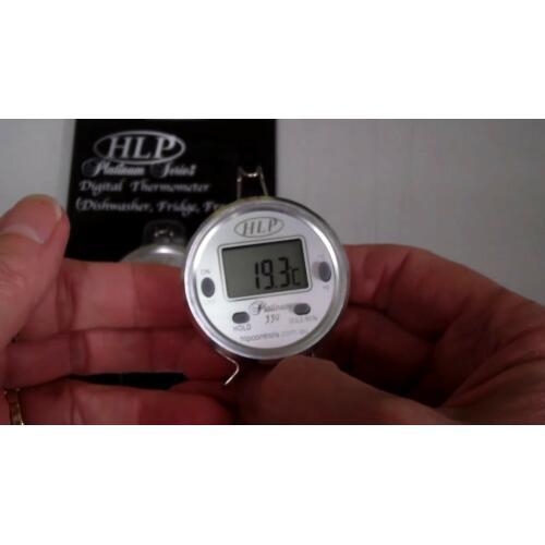 Dishwasher, Fridge Freezer Thermometer Platinum -50-+150c - HLP