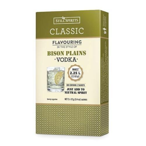 SS Classic Bison Plains Vodka (2x1.125Lt)