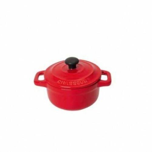 Mini Casserole Red 10cm - Chasseur