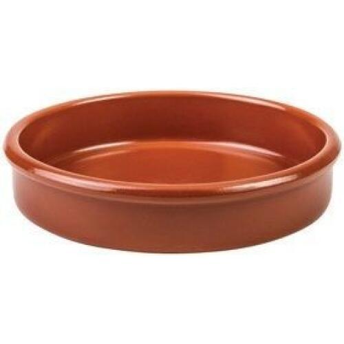 Round Tapas Dish Terracotta 13.5cm