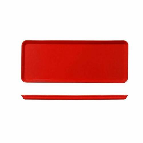 Tray 39x15cm Red Melamine