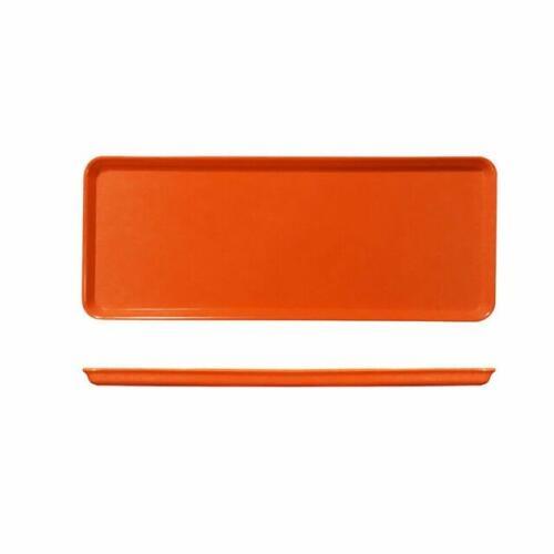 Tray 39x15cm Orange Melamine