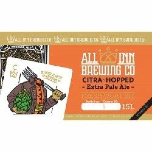 Citra Single Hop Pale Ale - All Inn Fresh Wort Kit