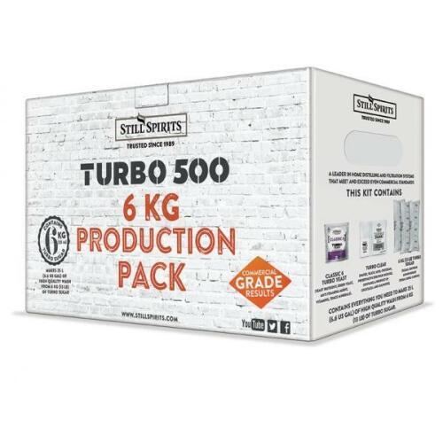 Turbo 6kg Production Pack - Classic 6 - Still Spirits