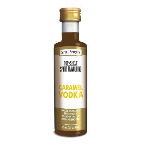 Caramel Vodka - Top Shelf Still Spirits