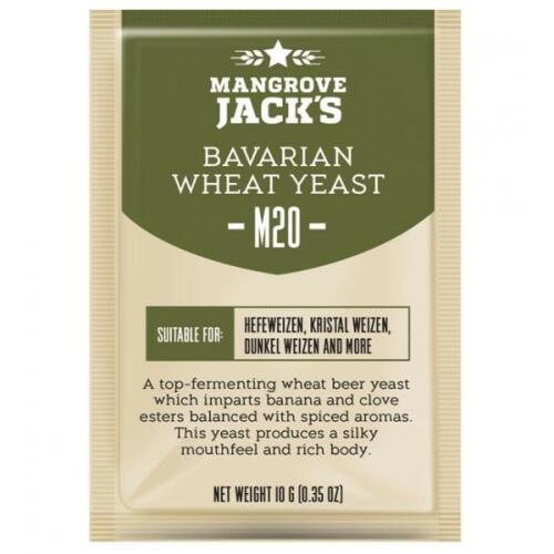 Bavarian Wheat Yeast M20 10g - Mangrove Jack's