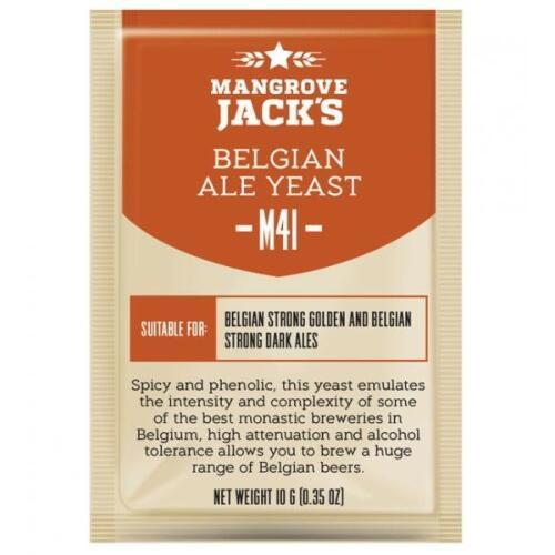 Belgian Ale Yeast M41 10g - Mangrove Jack's