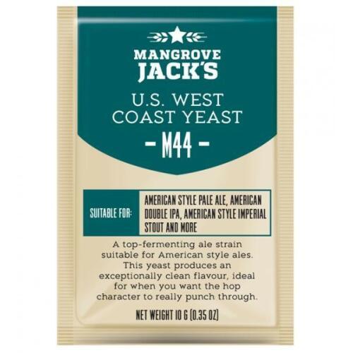 US West Coast Yeast M44 10g - Mangrove Jack's