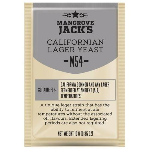 Californian Lager Yeast M54 10g - Mangrove Jack's