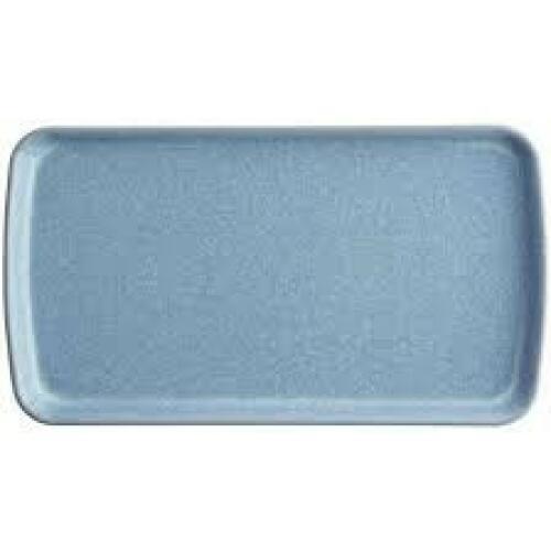 Denby Elements Rect Plate 26x14.5cm Blue