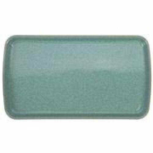 Denby Elements Rect Plate 26x14.5cm Green
