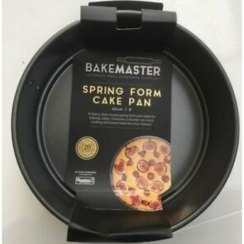 Springform Tin 20cm Non Stick - Bakemaster