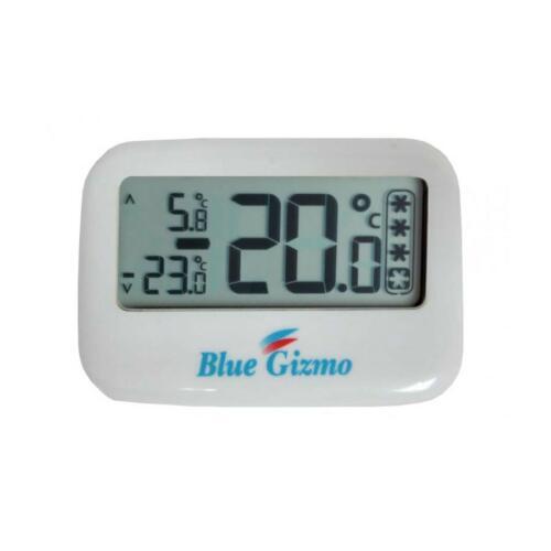 Digital Freezer/Fridge Thermometer - Blue Gizmo