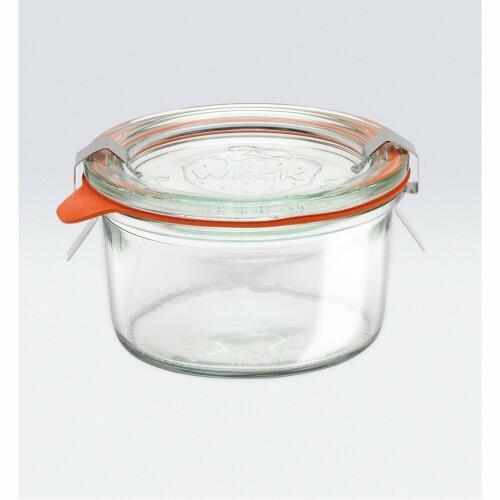 Weck Glass Jars Complete W/Lid/Seal 165ml